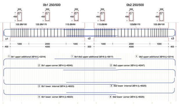 Reinforcement Detail Drawings Rebar Detailing Drawings of